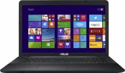 Ноутбук Asus X751LN (17.3 LED/ Core i7 4510U 2000MHz/ 8192Mb/ HDD 1000Gb/ NVIDIA GeForce GT 840M 2048Mb) MS Windows 8.1 (64-bit) [90NB06W5-M00020] - фото