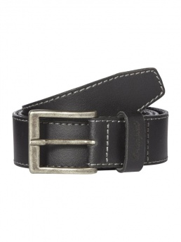 ремень »BASIC STITCHED BELT BLACK« - фото